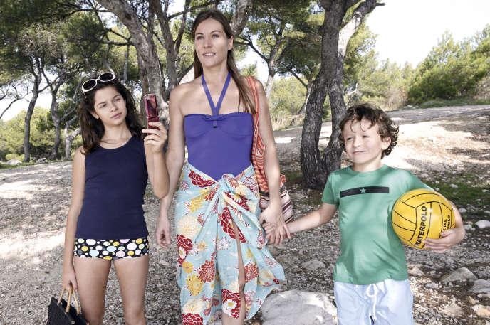 «Une semaine sur deux (et la moitié des vacances scolaires) », film de Ivan Calbérac (2009). Avec Mathilde Seigner.