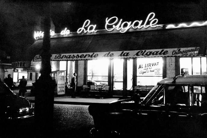 La Cigale en 1955.