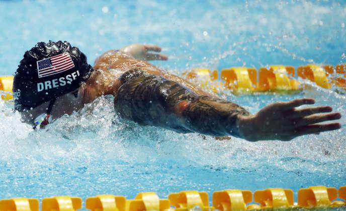 L'Américain Caeleb Dressel a battu le record du monde du 100 mètres papillon en demi-finales le 26 juillet à Gwangju, record jusqu'alors détenu par Michael Phelps.