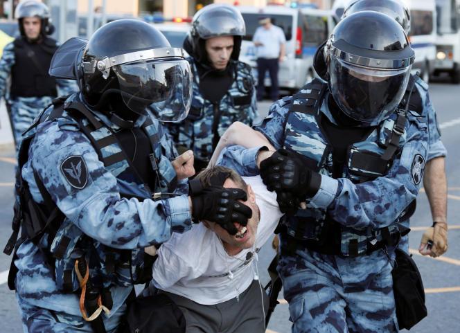 A Moscou, le 27 juillet.