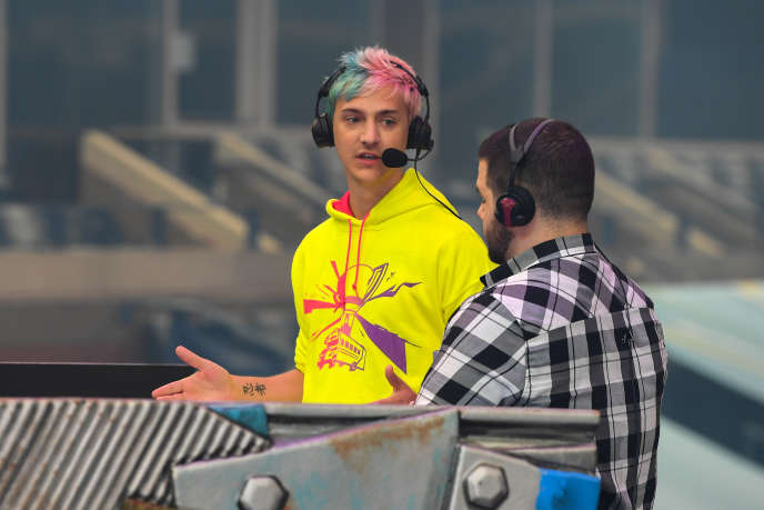 La star de Mixer, le «streameur» Ninja, en juillet 2019.