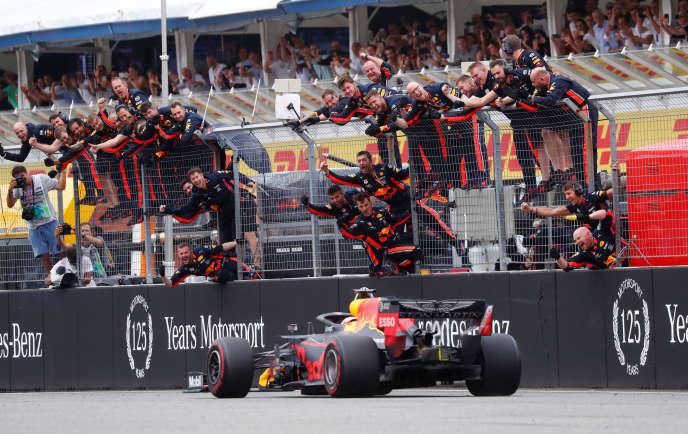 Max Verstappen, le 28 juillet 2019.