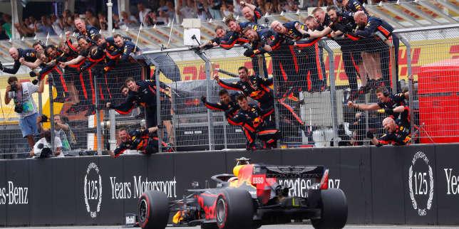 Grand Prix d'Allemagne: Max Verstappen s'impose au terme d'une course à rebondissements