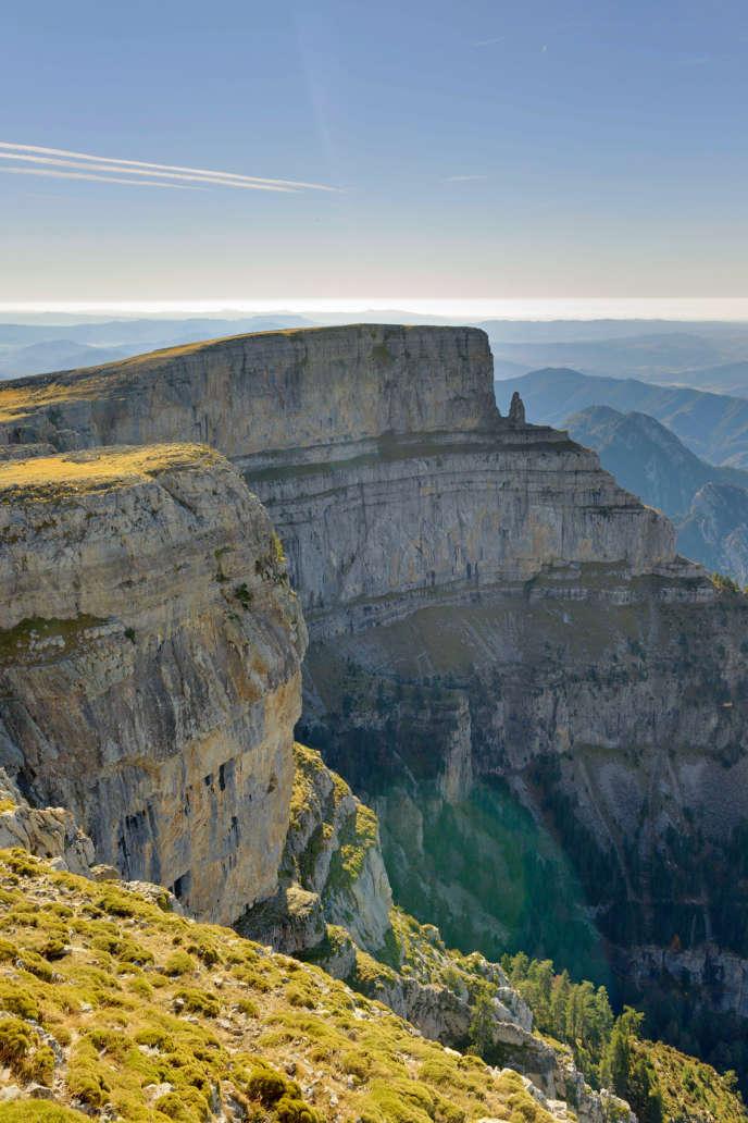 Le canyon d'Añisclo du Parc national d'Ordesa et du mont Perdu, dans les Pyrénées centrales en Espagne.