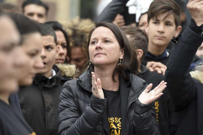 Johanna Rolland, la maire PS de Nantes, le 28avril.