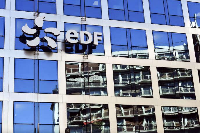 Le siège d'EDF, à Paris, le 15 février.