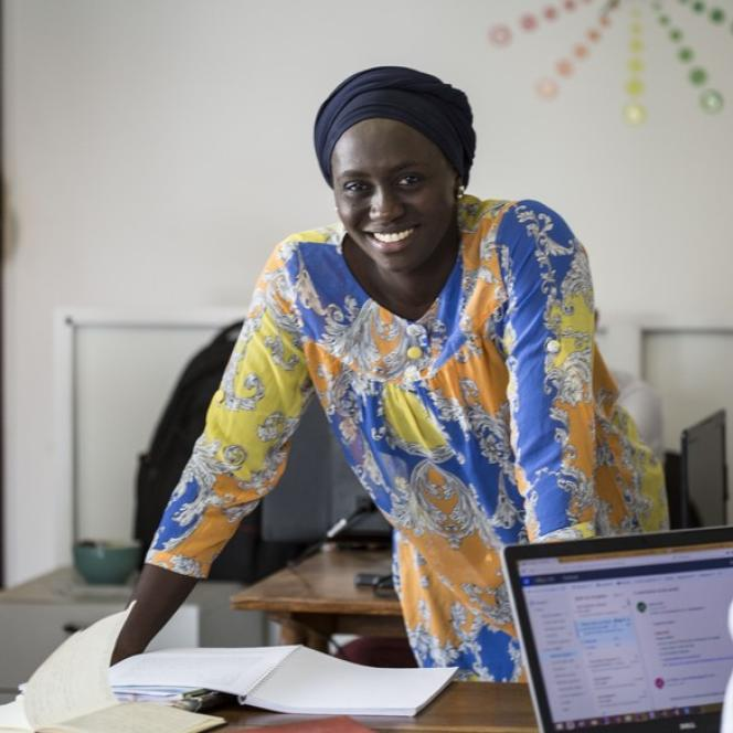 La Sénégalaise Ndeye Amy Kebe a créé la start-up Jokalante.