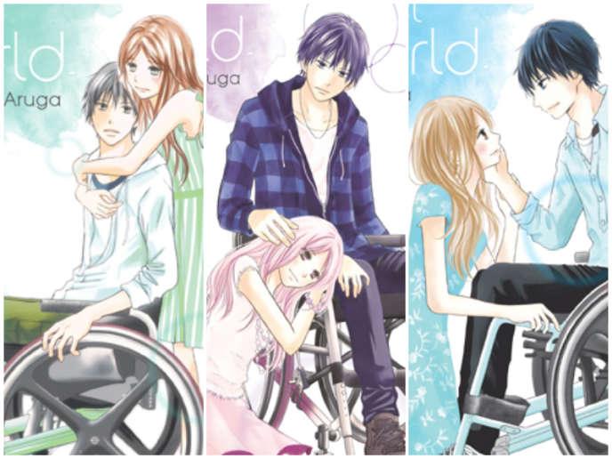 Extraits des couvertures de la version française de« Perfect World».