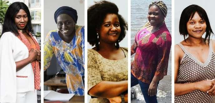 Aïssata Diakité, Ndeye Amy Kebe, Coumba Diakité, Danielle Akini et Grace Camara.