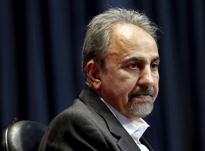Mohammad Ali-Najafi, enoctobre2017 à la mairie de Téhéran.