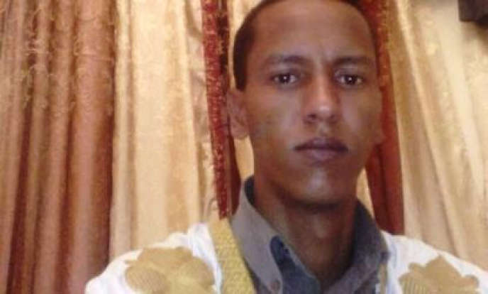 Le bloggeur mauritanien Mohamed Cheikh Ould Mkheïtir.