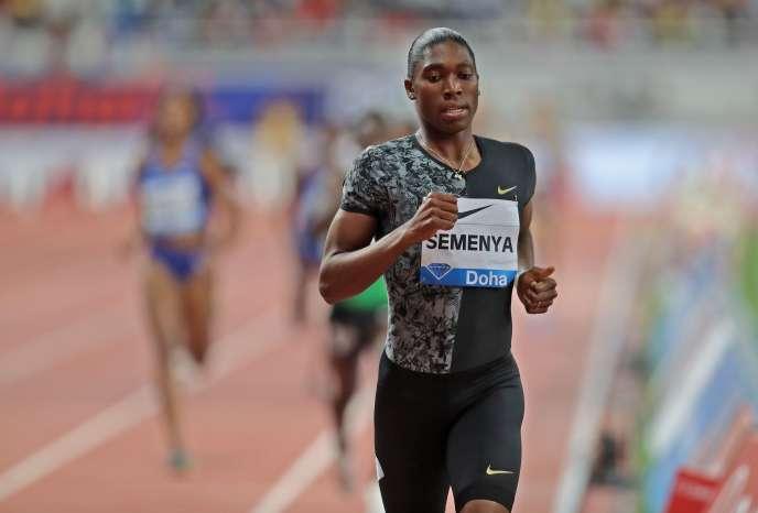 Devant le Tribunal arbitral du sport, l'IAAF affirme que Semenya est « biologiquement un homme ».