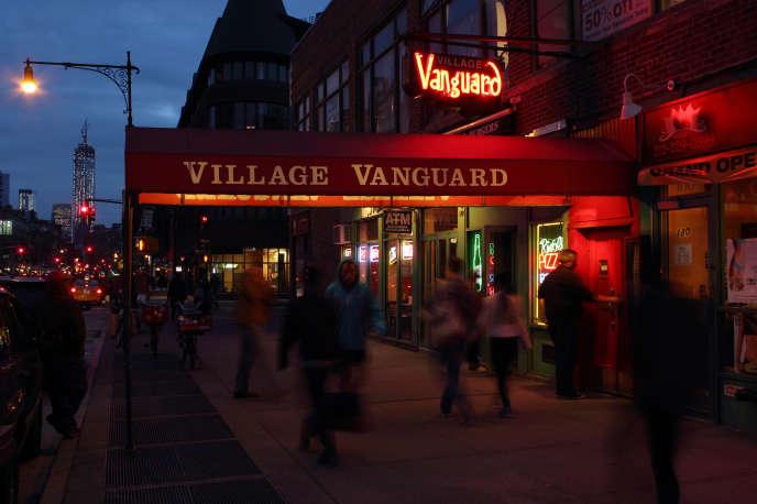 Le Village Vanguard à Manhattan, New York.