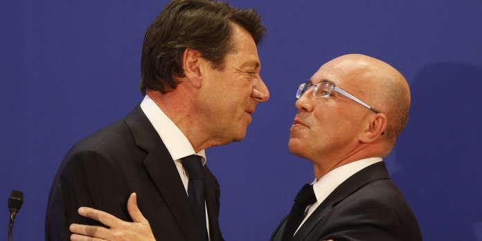 Elections municipales : à Nice, Eric Ciotti laisse le champ libre à Christian Estrosi