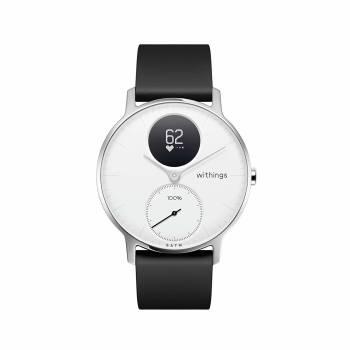 Une montre hybride avec une autonomie de 25 jours La Steel HR de Withings