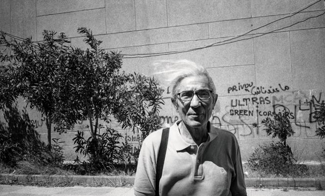 L'écrivain Boualem Sansal, à Boumerdès, le 16 juillet.