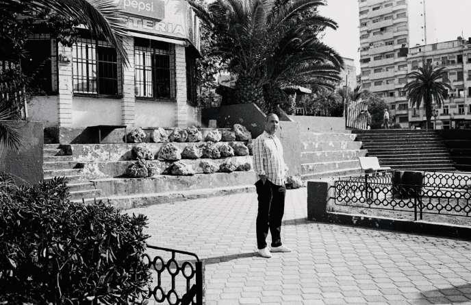 L'écrivain Kamel Daoud, à Oran, le 14 juillet.