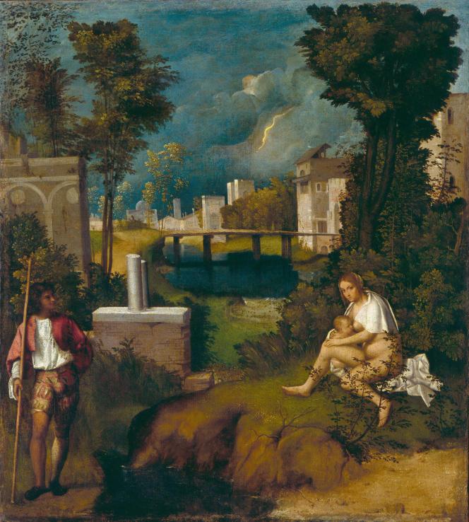 «La Tempête» (1506), deGiorgione.