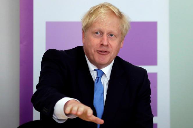 Le premier ministre britannique, Boris Johnson , le 31 juillet à Londres.