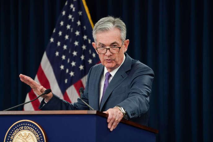 Le patron de la Reserve fédérale, Jerome Powell, le 31 juillet, à Washington.
