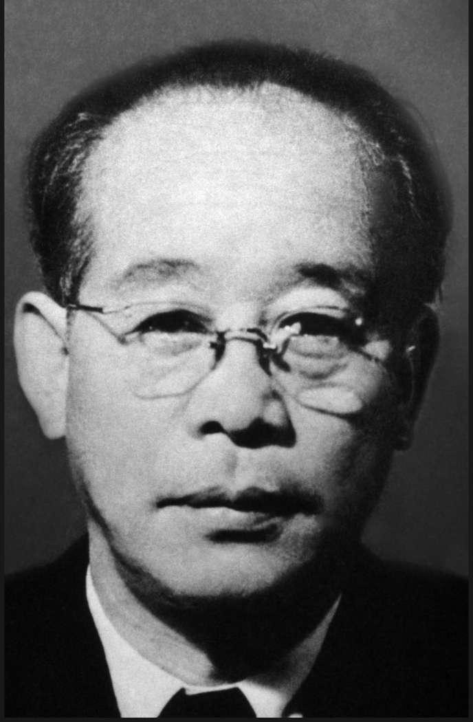 Le réalisateur japonaisKenji Mizoguchi.