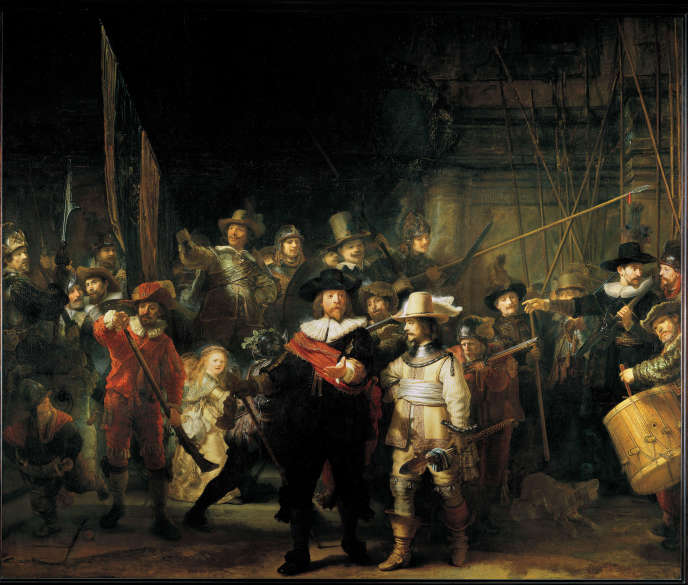 "Painting: Rembrandt's ""Ronde de nuit"", a disconcerting military parade"