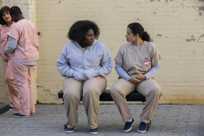 Danielle Brooks et Dascha Polanco dans «Orange Is the New Black».