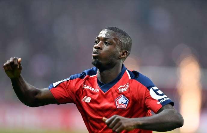 Le désormais ex-Lillois Nicolas Pépé a toqué à la porte d'Arsenal, ça a marché.