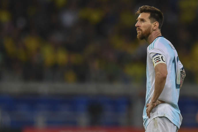 Lionel Messi suspended for three months in national team
