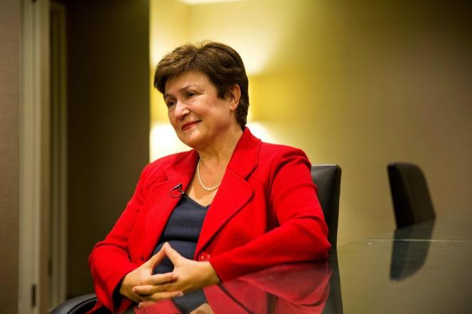 L'actuelle numéro deux de la Banque mondiale, Kristalina Georgieva, à New York, en septembre 2016.