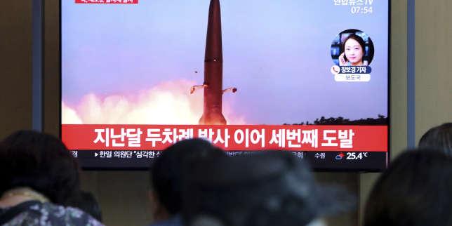 Pyongyang multiplie les tirs de «projectiles», Trump minimise leur importance