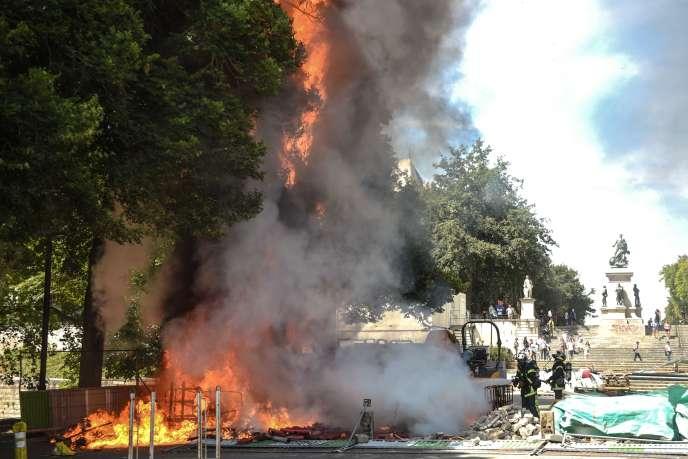 A Nantes, le 3 août.