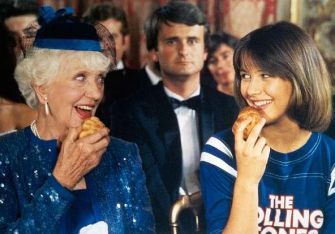 Denise Grey et Sophie Marceau, dans« La Boum» (1980).