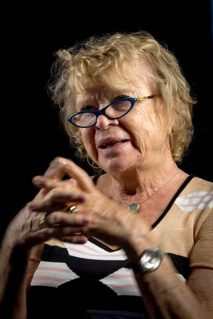 L'ancienne députée écologiste européenne Eva Joly, en 2017.
