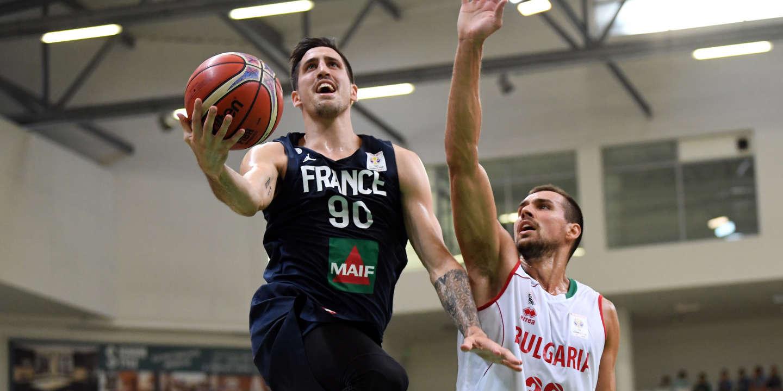 Coupe du monde 2019 de basket : en équipe de France, de