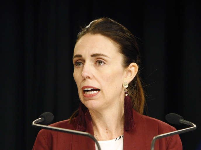 La première ministre néo-zélandaise, Jacinda Ardern, le 5 août à Wellington.
