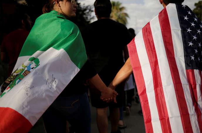 Lors d'un rassemblement contre la haine, à El Paso, le 4 août.