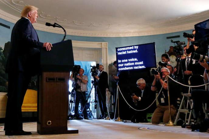 Donald Trump à la Maison Blanche le 5 août.