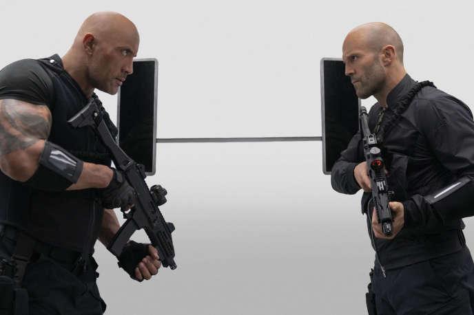 Dwayne Johnson et Jason Statham dans« Fast & Furious : Hobbs & Shaw », deDavid Leitch.