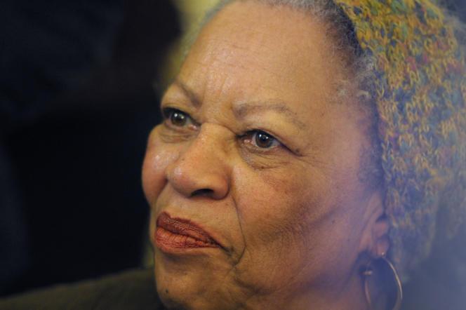 Toni Morrison à Paris, le 3 novembre 2010.