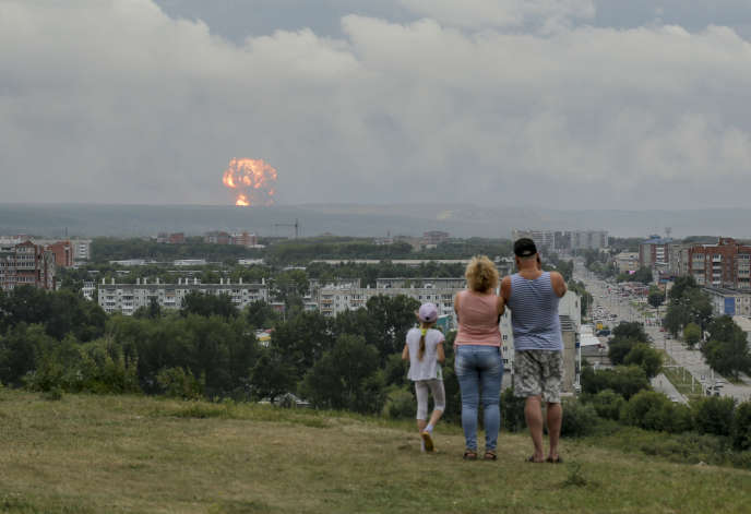 One missing, 12 wounded and thousands evacuated after Siberian ammunition dump