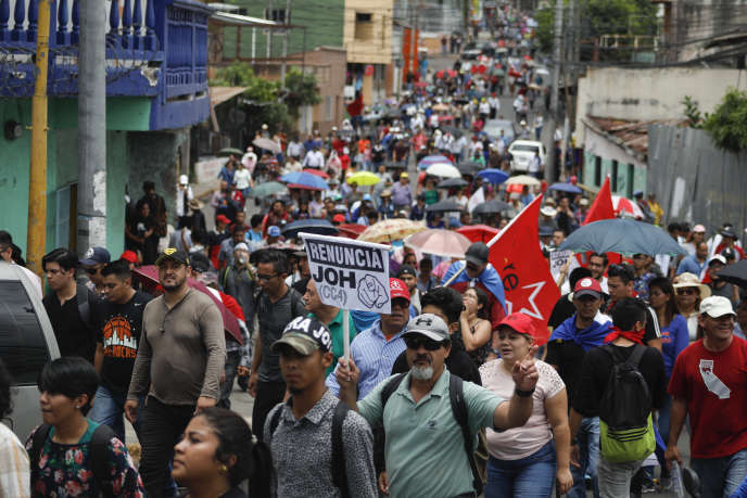 Honduras: another day of protest against President Hernandez