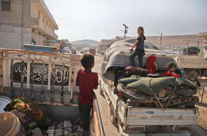 In the Syrian province of Idlib, a cease-fire quickly buried