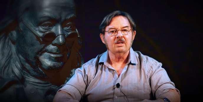 Capture d'écran de la vidéo publiée par Jim Wakins, le propriétaire de 8chan, quelques jours après l'attentat d'El Paso, au Texas.