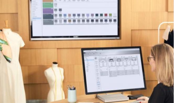 Lectra propose une solution « fashion on demand », qui permet aux grandes marques de produire des vêtements à la demande des clients.