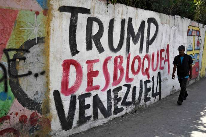 Anger in Venezuela after the drastic American sanctions