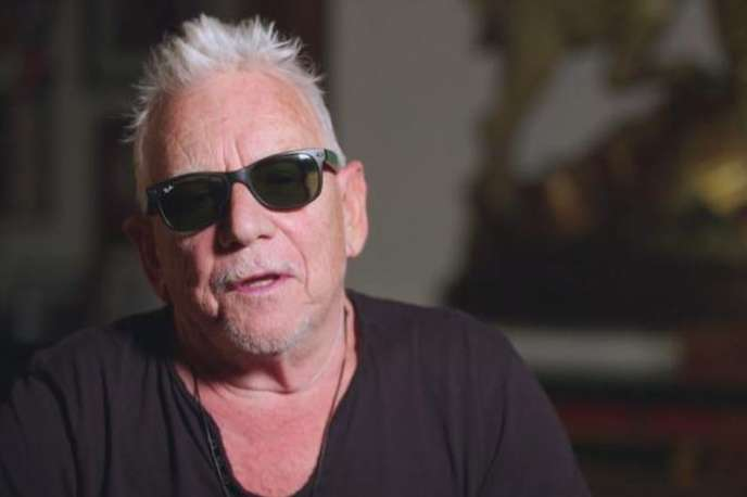 Le chanteur Eric Burdon, du groupe Animals.
