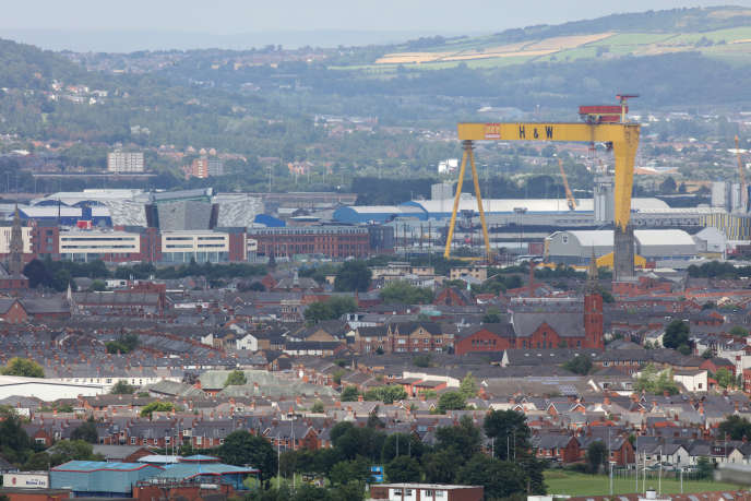 Belfast mourns the end of its legendary shipyards