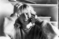 Ines Geipel en 1989, à Berlin-Ouest.