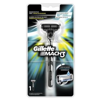 Le meilleur rasoir à main pour la plupart des visages Le Mach3 de Gillette